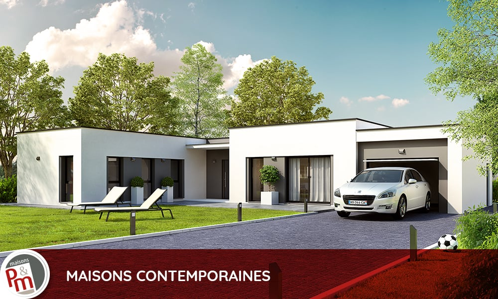 Construire une maison contemporaine le bon choix for Construire sa maison contemporaine