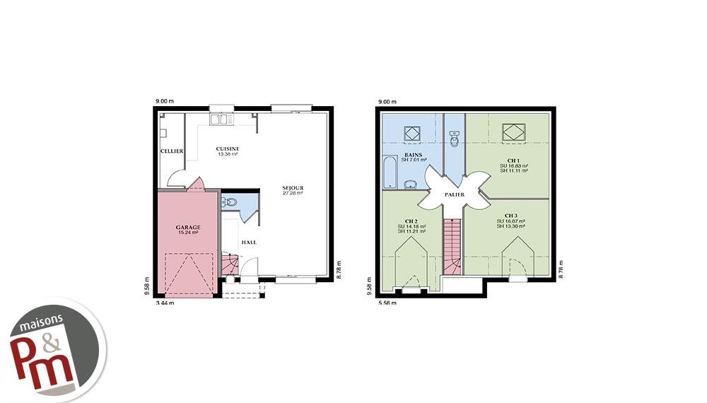 Boissiere Plan Maison 3d