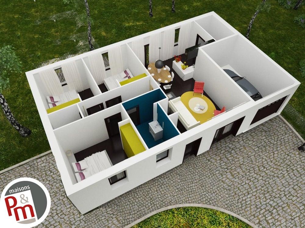Focus - plan maison