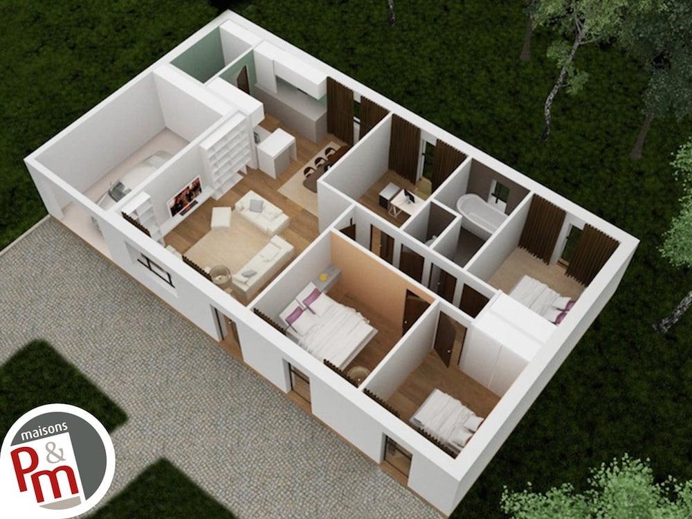 Focus Plan Maison 3d