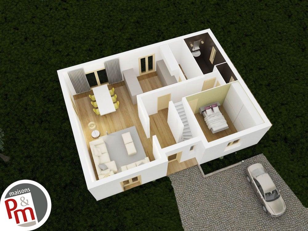 Chaini re maison familiale de luxe for Maison familiale modele