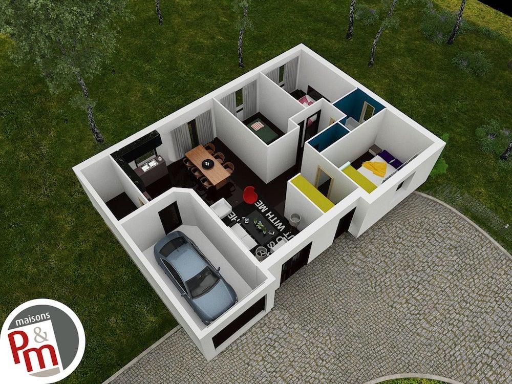 Pruniere Plan Maison