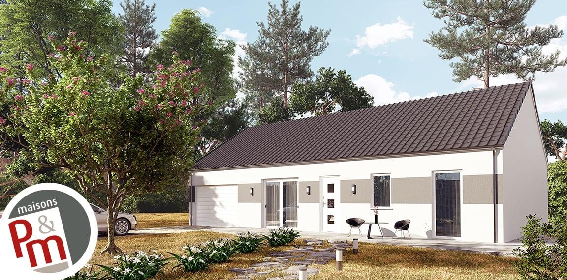 Maisons pm constructeur en r gion centre val de loire for Constructeur de maison region centre