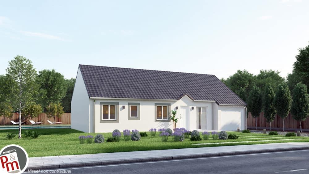 clery maison traditionnelle familiale petit prix. Black Bedroom Furniture Sets. Home Design Ideas